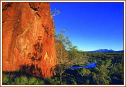 Glen Helen Gorge -West MacDonnell Ranges - Photo Courtesy NTTC