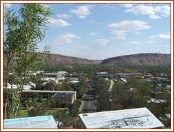 View from Anzac Hill - Alice Springs